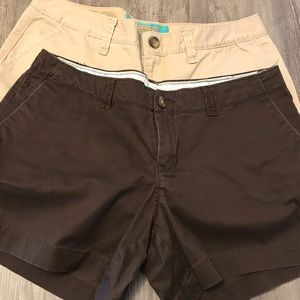 OLD NAVY SHORTS SIZE 10 2 pairs